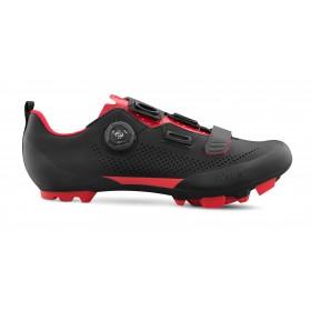 Fizik X5 terra chaussures vtt noir rouge