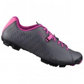 Shimano XC500 chaussures vtt femme gris / magenta
