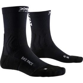 X-Socks bike race chaussettes de cyclisme opal noir eat dust