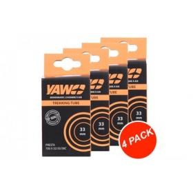 """YAW Binnenband Trekking 28"""" 33mm (4 Pack)"""