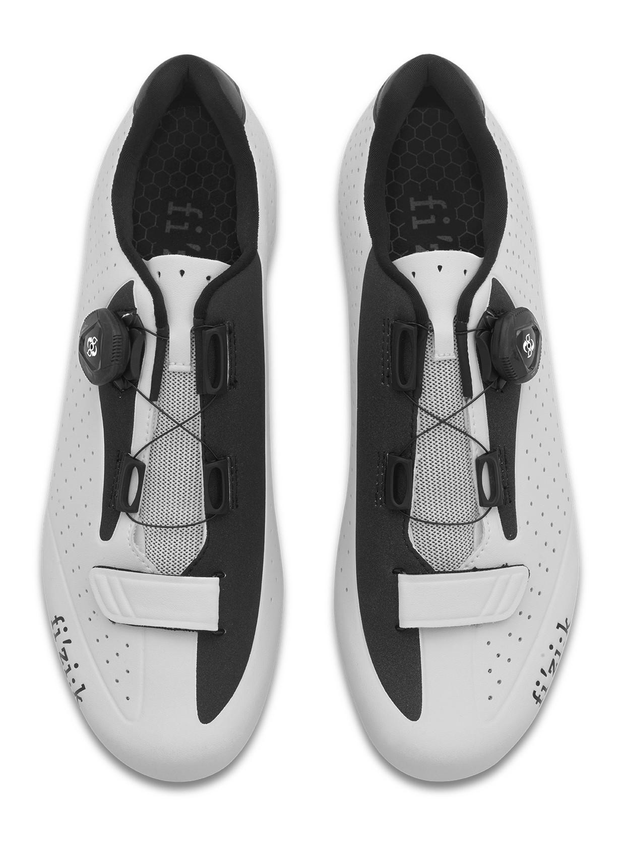 Fizik R5 boa Rennradschuhe weiß schwarz