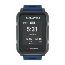 Sigma iD.Free Sportuhr blau