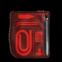 Pocpac MTB tool pouch rood