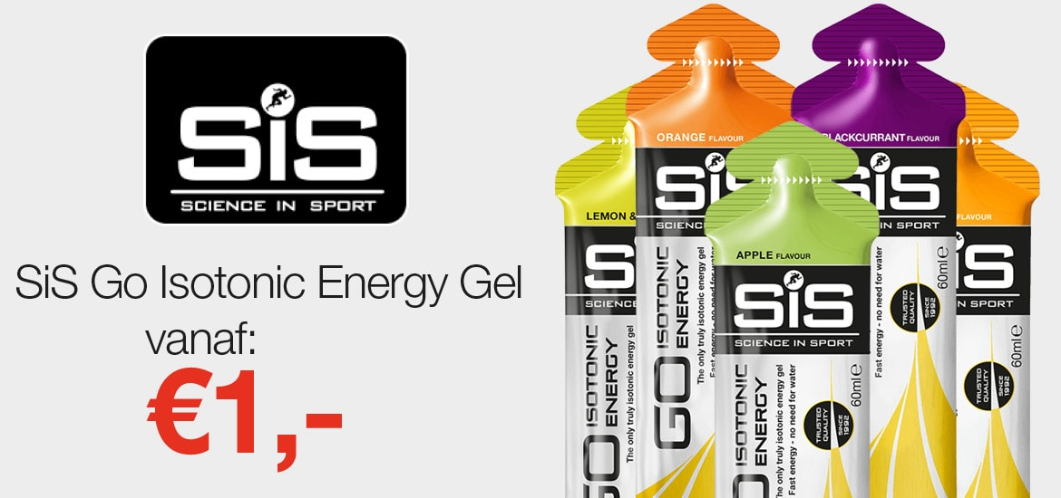 SiS Deal: Go Energy gel vanaf 1,-