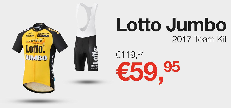 Lotto Jumbo 2017 Team Kit